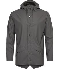 jacket regnkläder grå rains