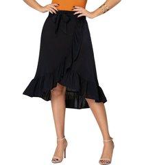 falda heimy negro para mujer croydon