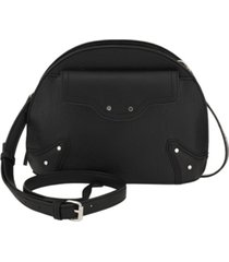 kensie women's moto dome crossbody bag