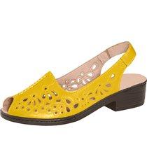 sandaletter julietta gul
