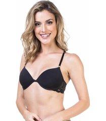 sutiã renda nadador preto - 541.018 marcyn lingerie costas nadador preto