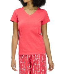 hue v-neck pajama t-shirt