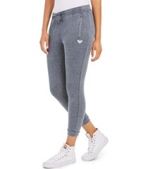 roxy juniors' skinny fleece pants