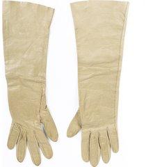 christian dior vintage leather gloves
