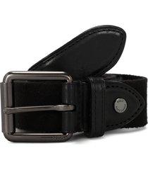 cinturon black polo ralph lauren reata