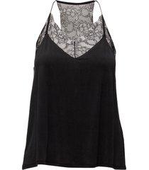 slipin top 6202 blouse mouwloos zwart samsøe samsøe
