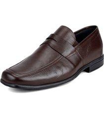 zapato formal café colore