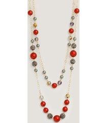 collar boble perlas-uni