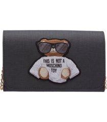 moschino teddy wallet