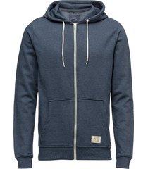 bhnoah sweatshirt hoodie blå blend