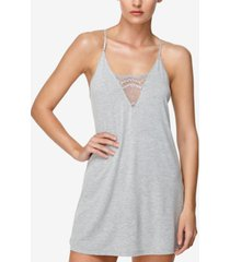 flora by flora nikrooz kat lace-trimmed knit chemise nightgown