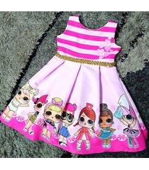 vestido lol patatitas i19 rosado