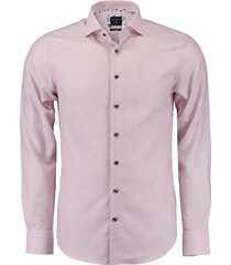 dobby overhemd roze