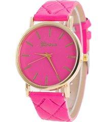 reloj fucsia re-41010