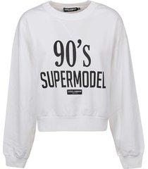 dolce & gabbana 90s supermodel sweatshirt