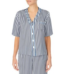 women's room service pajama top, size xx-small - blue (nordstrom exclusive)