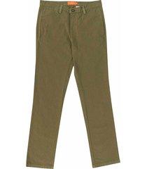 pantalón casual 440 verde bota recta regular fit para hombre 93145