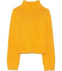 verona pullover in marigold