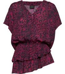 vespa t-shirts & tops short-sleeved röd ravn