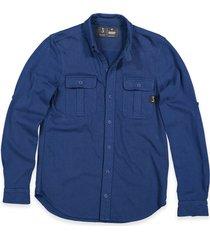 butcher of blue overhemd 1814000