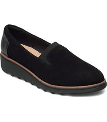 sharon dolly loafers låga skor svart clarks