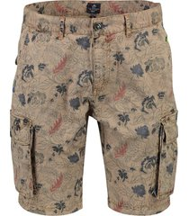 new zealand cargo short huka print khaki
