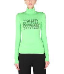 raf simons turtle neck sweater