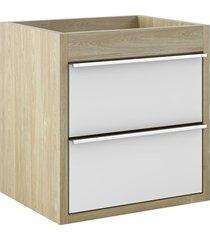 toucador para banheiro top 50 52x50cm wood