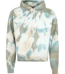 john elliott printed cotton hoodie