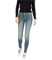 medium sanded denim eva jeans