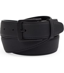 alfani men's feather edge faux leather belt, created for macy's