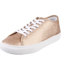 zapatilla dorada le coq sportif jane metallic golden