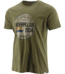 camiseta cat verde hombre 2511306-wov