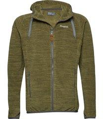 hareid fleece jkt sweat-shirt trui groen bergans