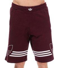 mens outline shorts