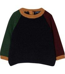 il gufo multicolored sweater