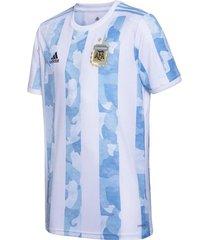 camiseta blanca adidas titular seleccion argentina