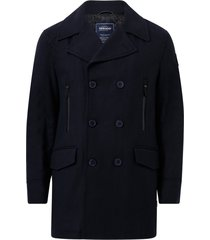 rock nautical pea coat