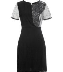 abito glitterato (nero) - bodyflirt