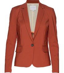 suit jacket blazer orange coster copenhagen