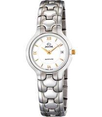 reloj classic plateado jaguar