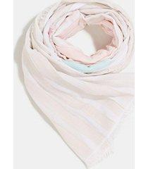 pañuelo logo algodón beige esprit