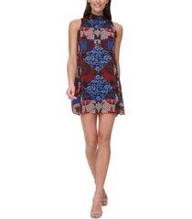 tommy hilfiger shibori patchwork dress