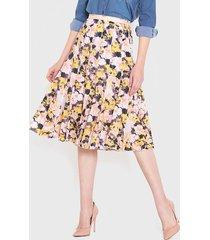 falda wados multicolor - calce holgado