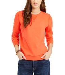 lucky brand classic crewneck sweatshirt