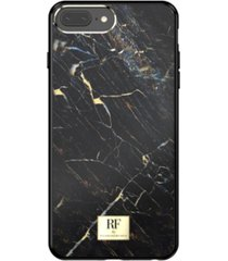 richmond & finch black marble case for iphone 6/6s, iphone 7, iphone 8 plus