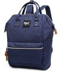 mochila cartera azul everlast