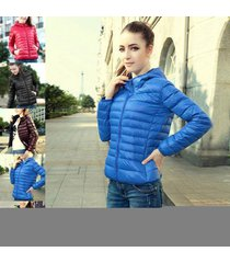 hot tide womens warm candy color uniqlo jacket down coat slim overcoat parka