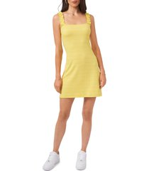 1.state ruffle strap dress, size x-large in citrus yellow at nordstrom