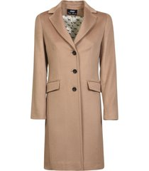 three-button coat